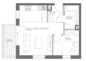 mieszkanie stabłowice 2 pokoje